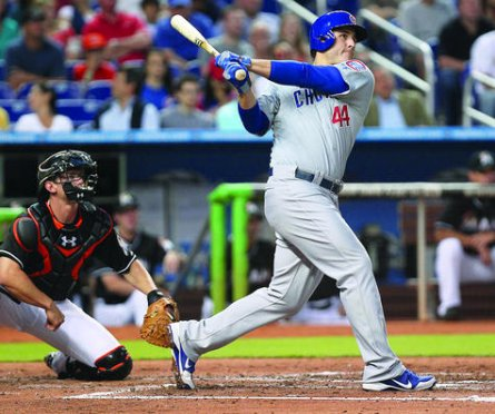 Anthony Rizzo homers