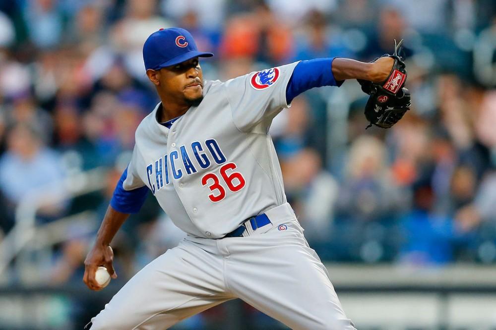 Edwin+Jackson+Chicago+Cubs+v+New+York+Mets+6DUsls1KByWx