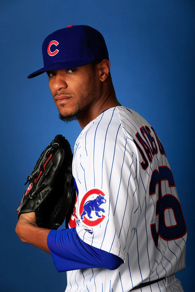 Edwin+Jackson+Chicago+Cubs+Photo+Day+ndfRGdvjsePl