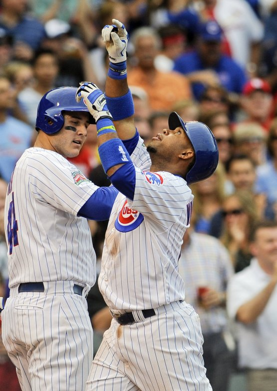 MLB: St. Louis Cardinals at Chicago Cubs