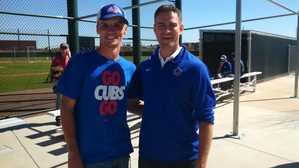 Chicago Cubs, Theo Epstein, #LetsGo, #BaseballBegins