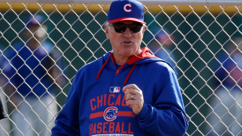 Chicago Cubs Spring Training Joe Maddon