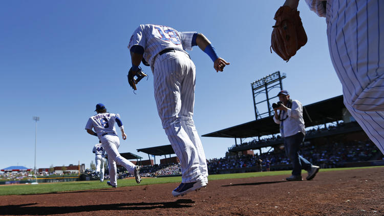 Starlin Castro, Chicago Cubs, Spring Training, Baseball, MLB