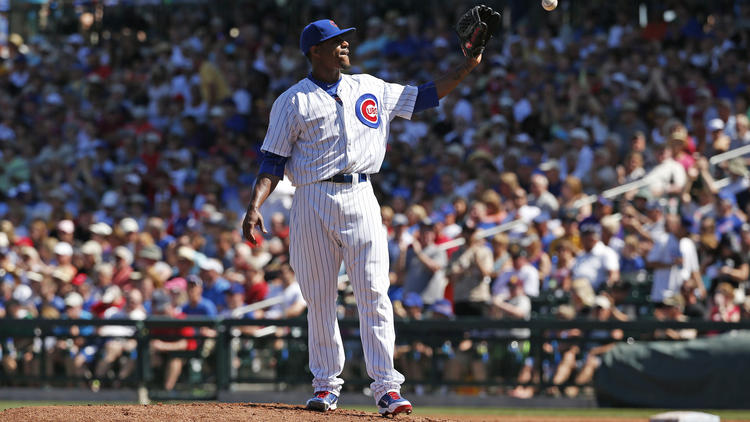 Edwin Jackson, Chicago Cubs, Spring Training