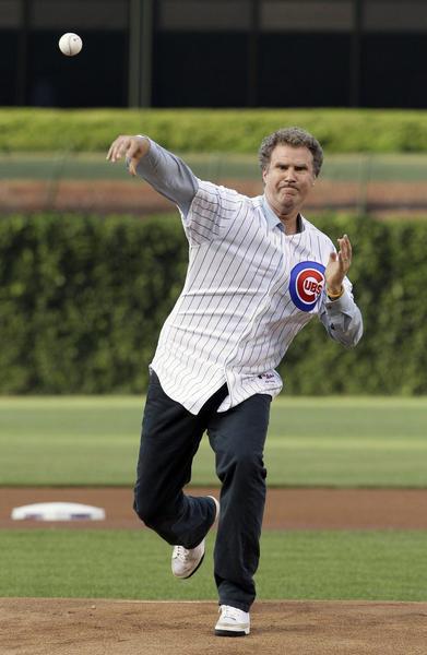 Will Ferrell Chicago Cubs Baseball