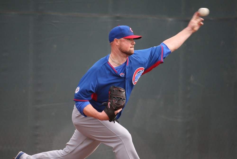 Jon Lester, Chicago Cubs, MLB, Arizona