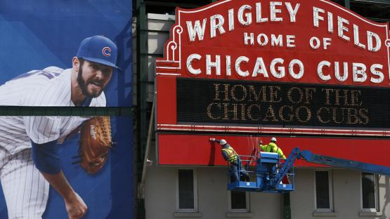 Jake Arrieta, Chicago Cubs, Wrigley Field