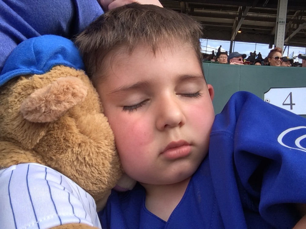Sleepy Chicago Cub