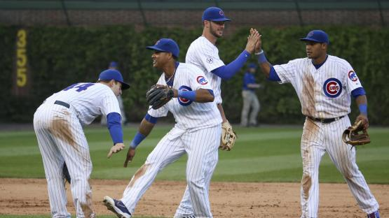 Chicago Cubs six in a row