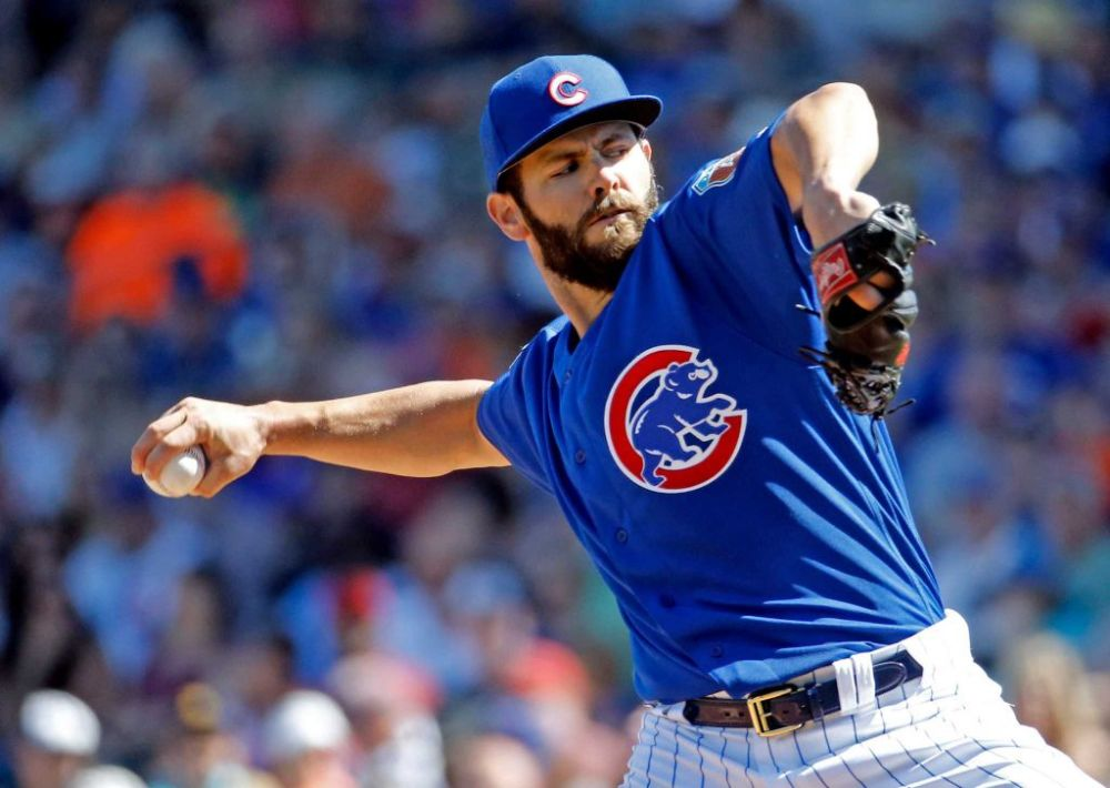 Jake Arrieta Chicago Cubs